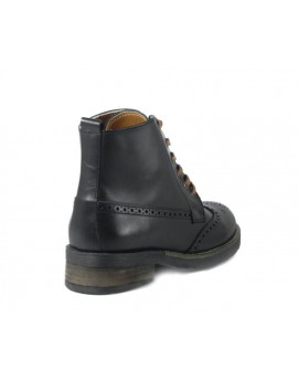 Bota Wood Black