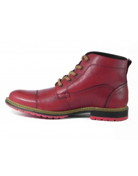 Bota Short Pale Red