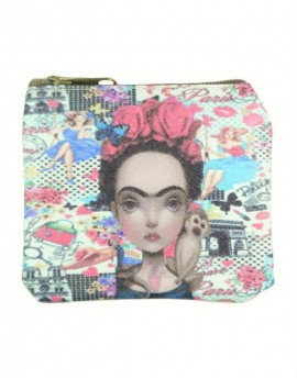 Monedero Frida Pink-Paris
