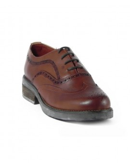 Oxford Wingtip Brown