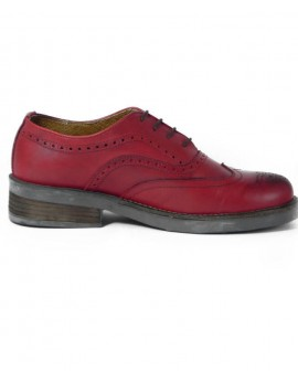 Oxford Wingtip Red