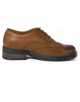 Oxford Wingtip Camel