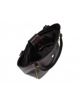 bolsa de piel negra