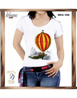 Tradicion Mexicana d-globo barco