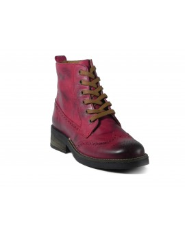 Bota Wood Red